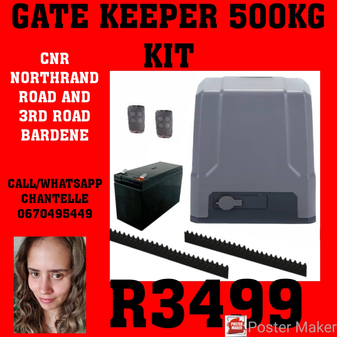 GATE KEEPER 500KG KIT