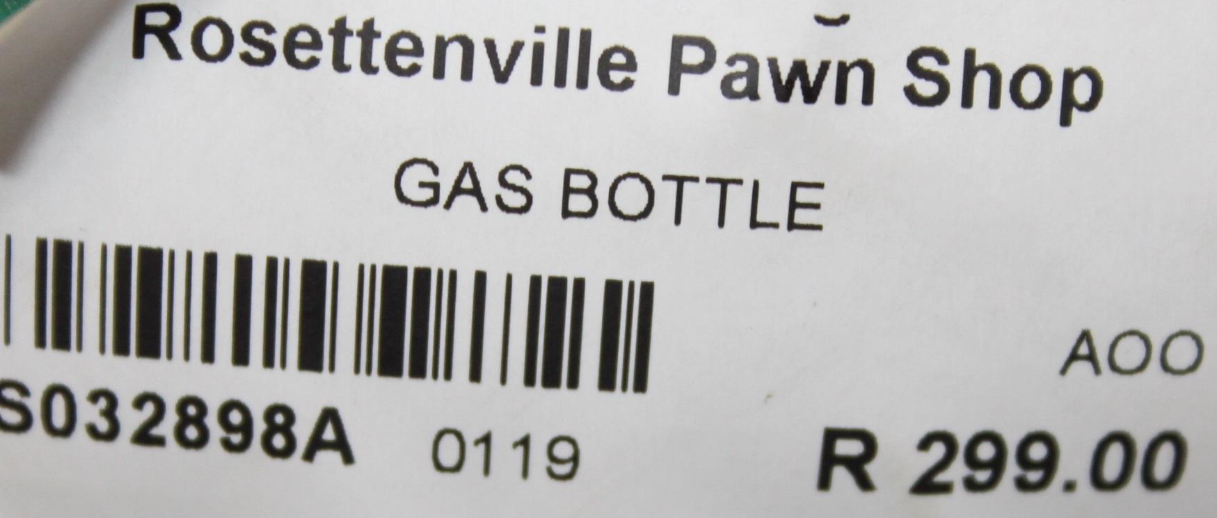Gas bottle S032898A #Rosettenvillepawnshop
