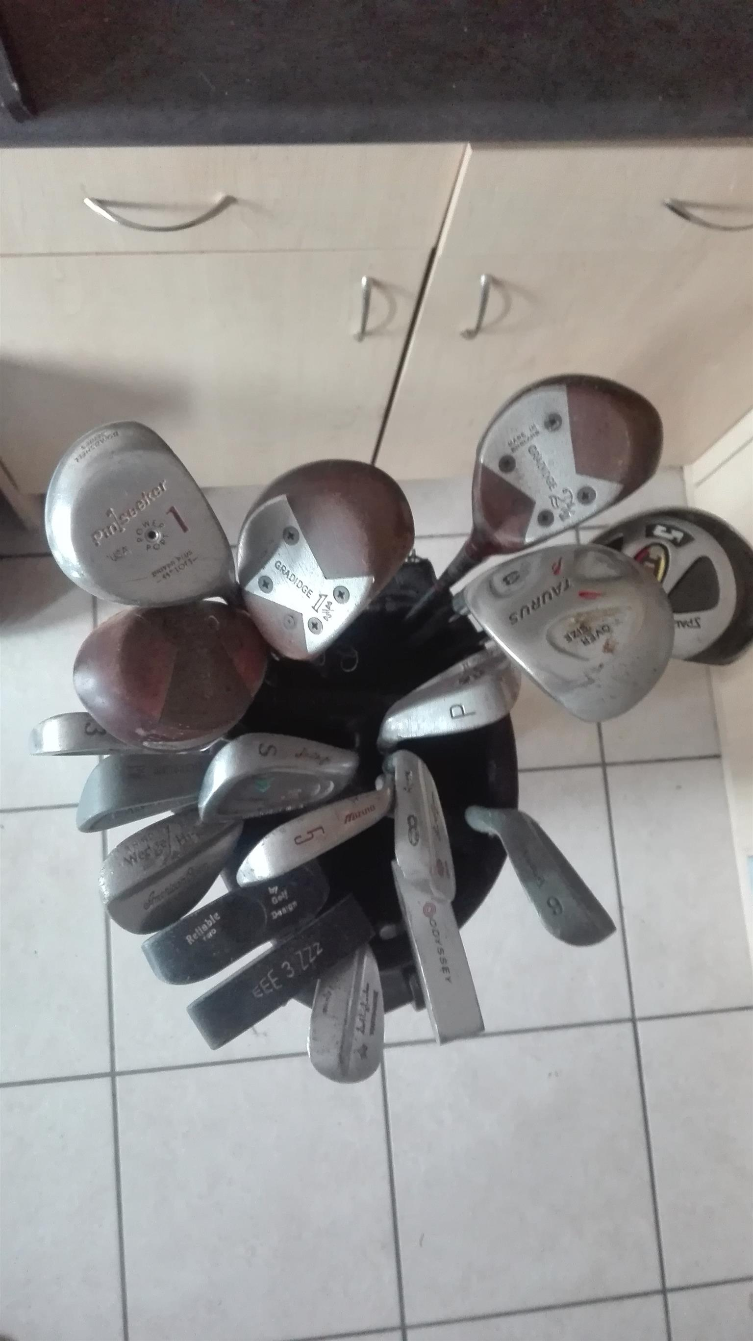 Golf Clubs and Extras