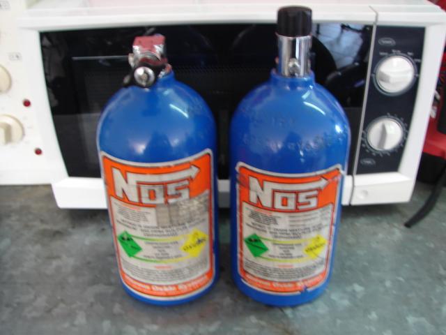 NOS Nitrous Oxide 2lb bottle