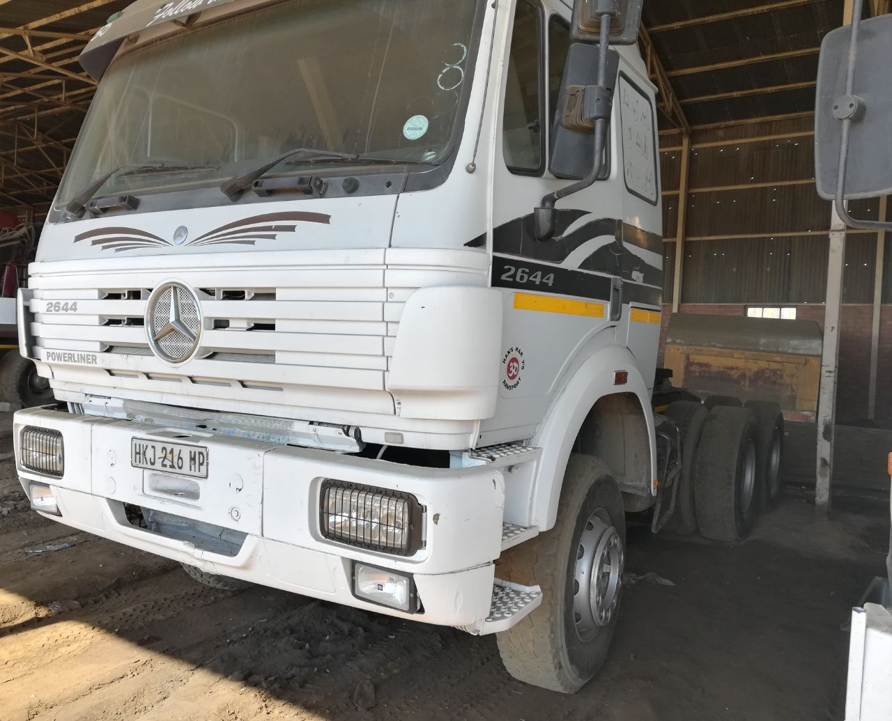 Mercedes Benz 2644 Powerliner 6x4 Truck Tractor!