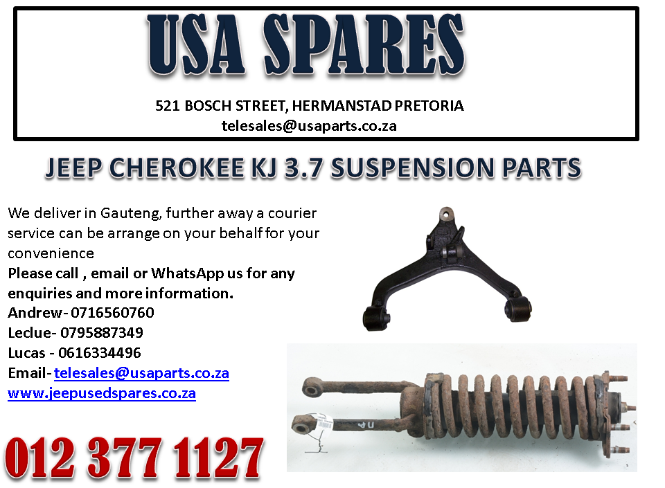 JEEP CHEROKEE 3.7 KJ SUSPENSION PARTS FOR SALE.
