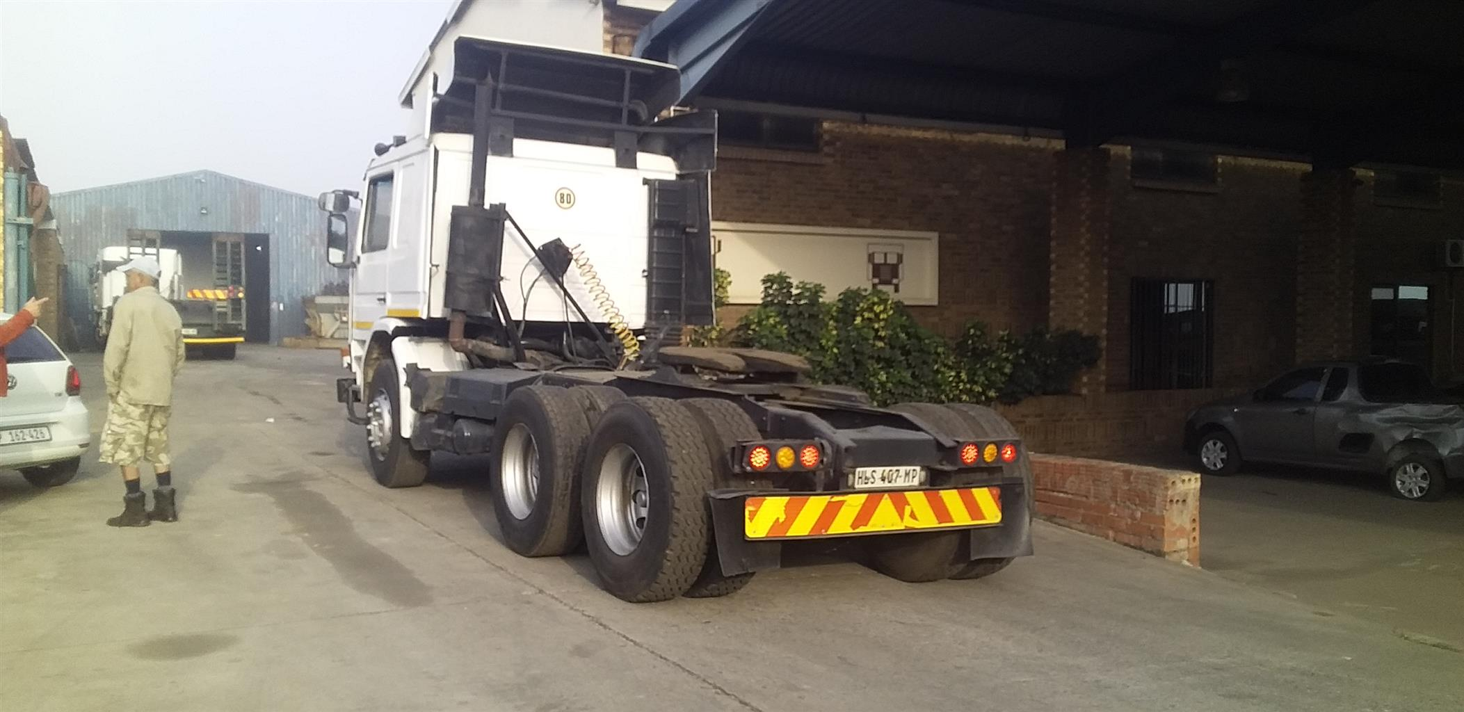 1996 SCANIA 360 6X4 TRUCK TRACTOR