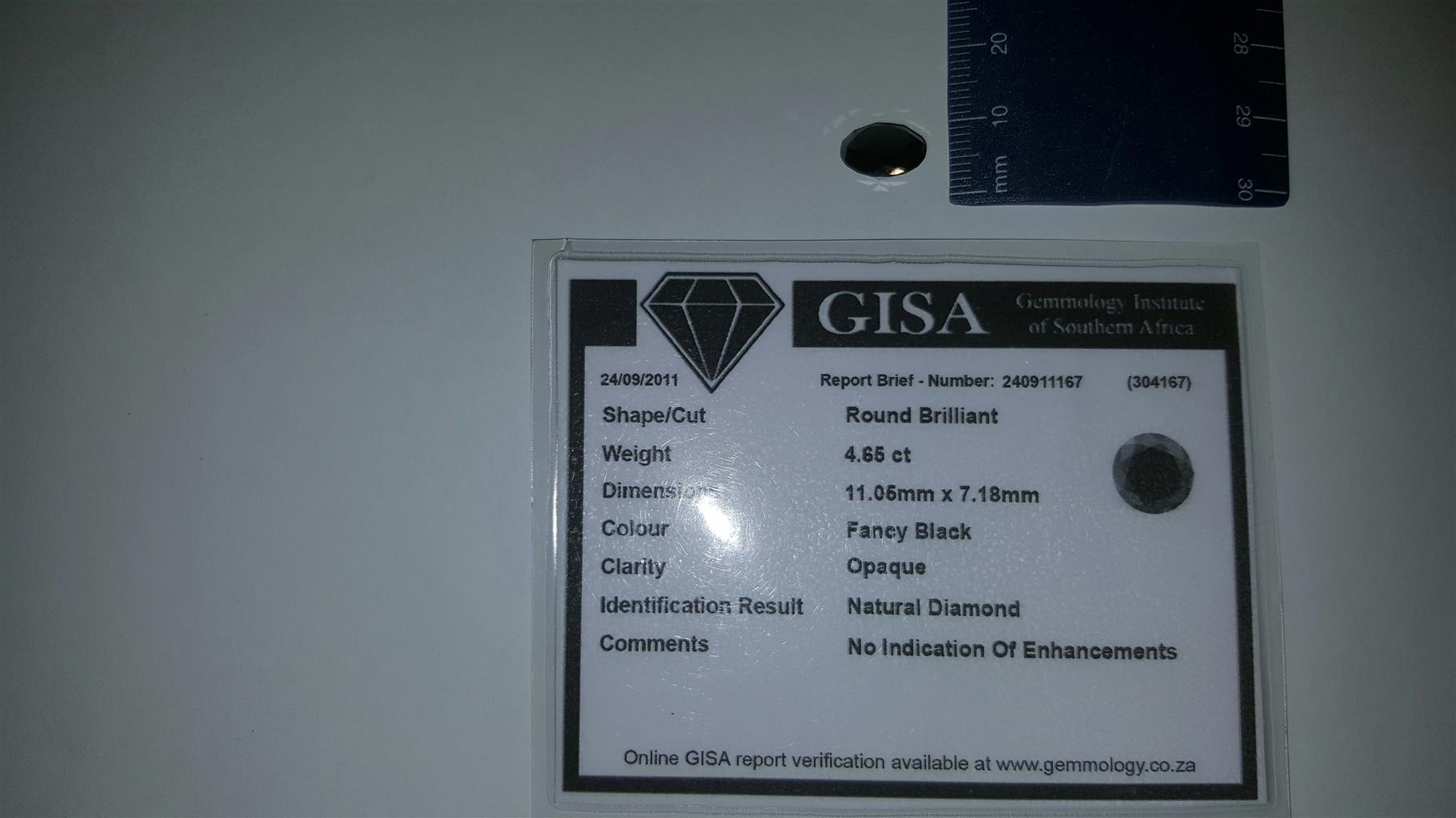 Black Diamond - 4.65 CT