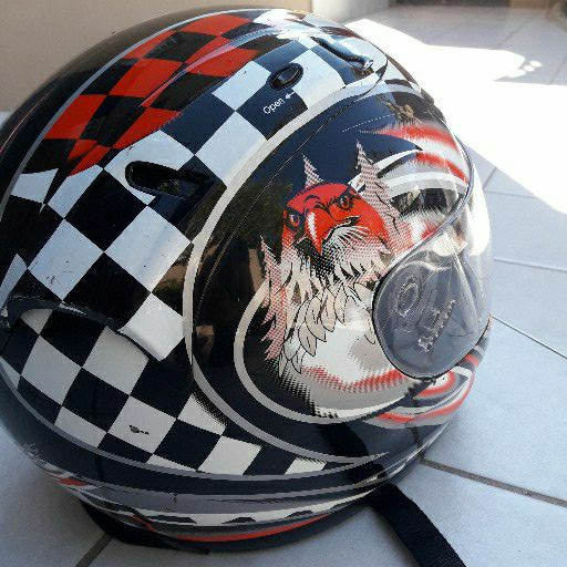 BIKERS HELMET BRAND MARS  brand new condition