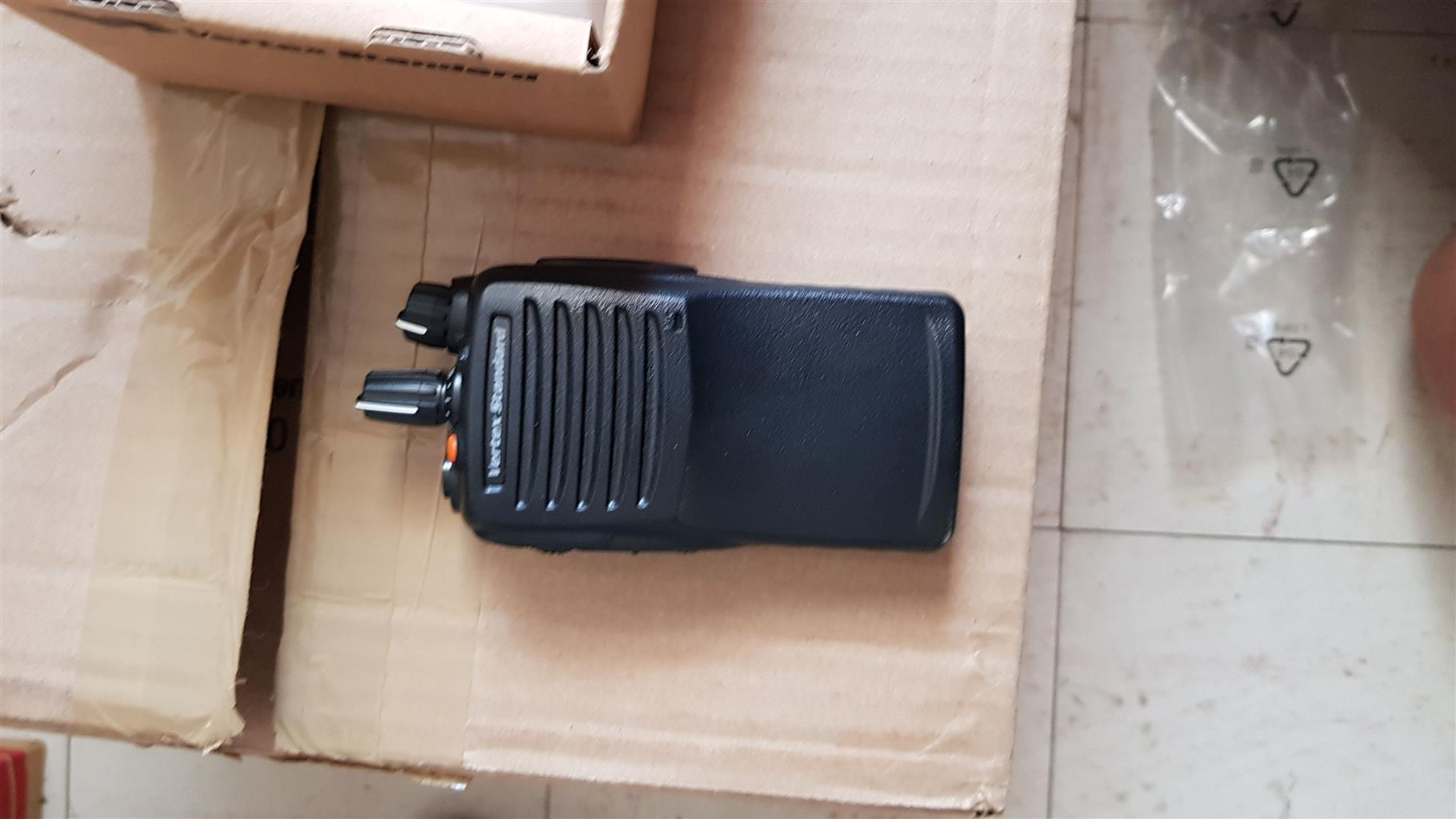 Two way radios, vertec standard