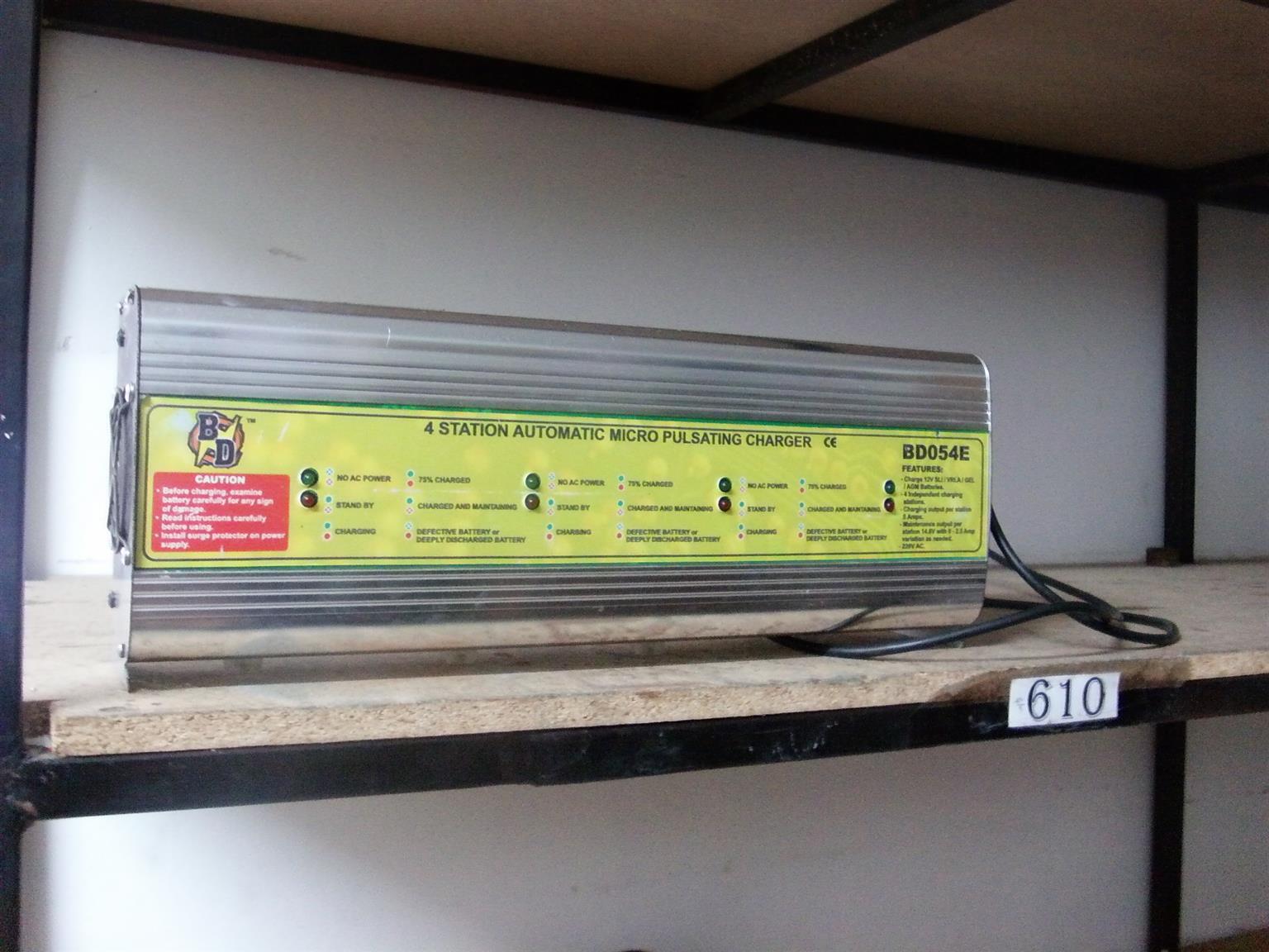 Battery Reconditioning training & Equipment