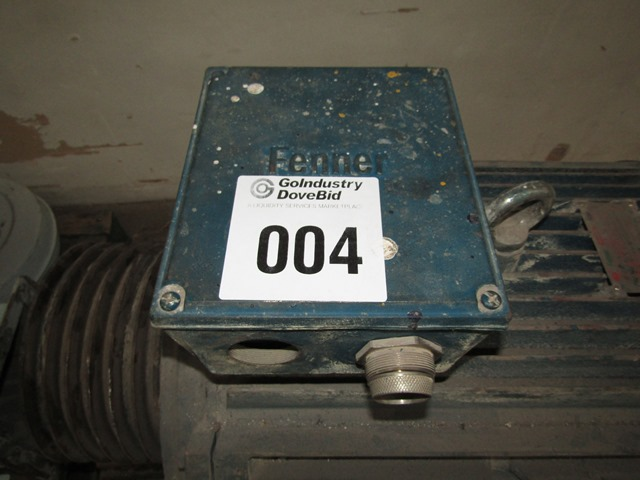 Fenner Motoline Electric Motor - ON AUCTION