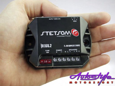Stetsom Iron Line Micro Amplifier 80rms x 2ch  Ultra compact Amplifier.