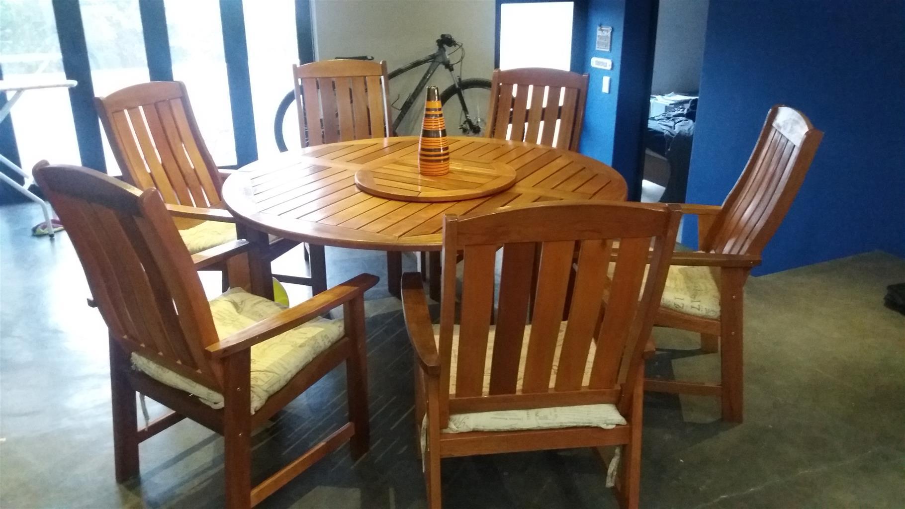 Outdoor or indoor dining room set
