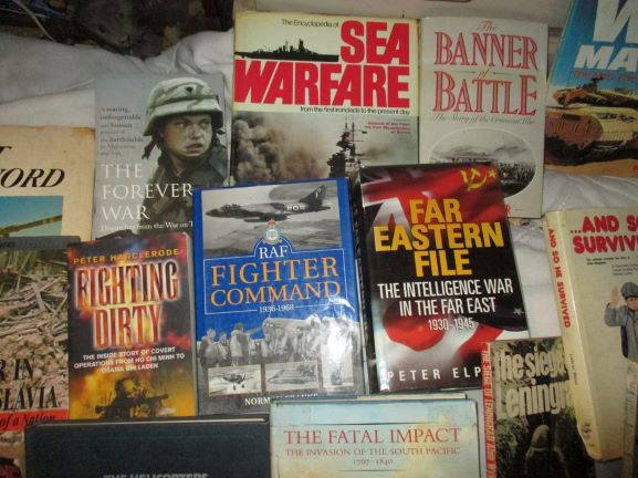 14 Military Books      choose 2 or more at R45 each