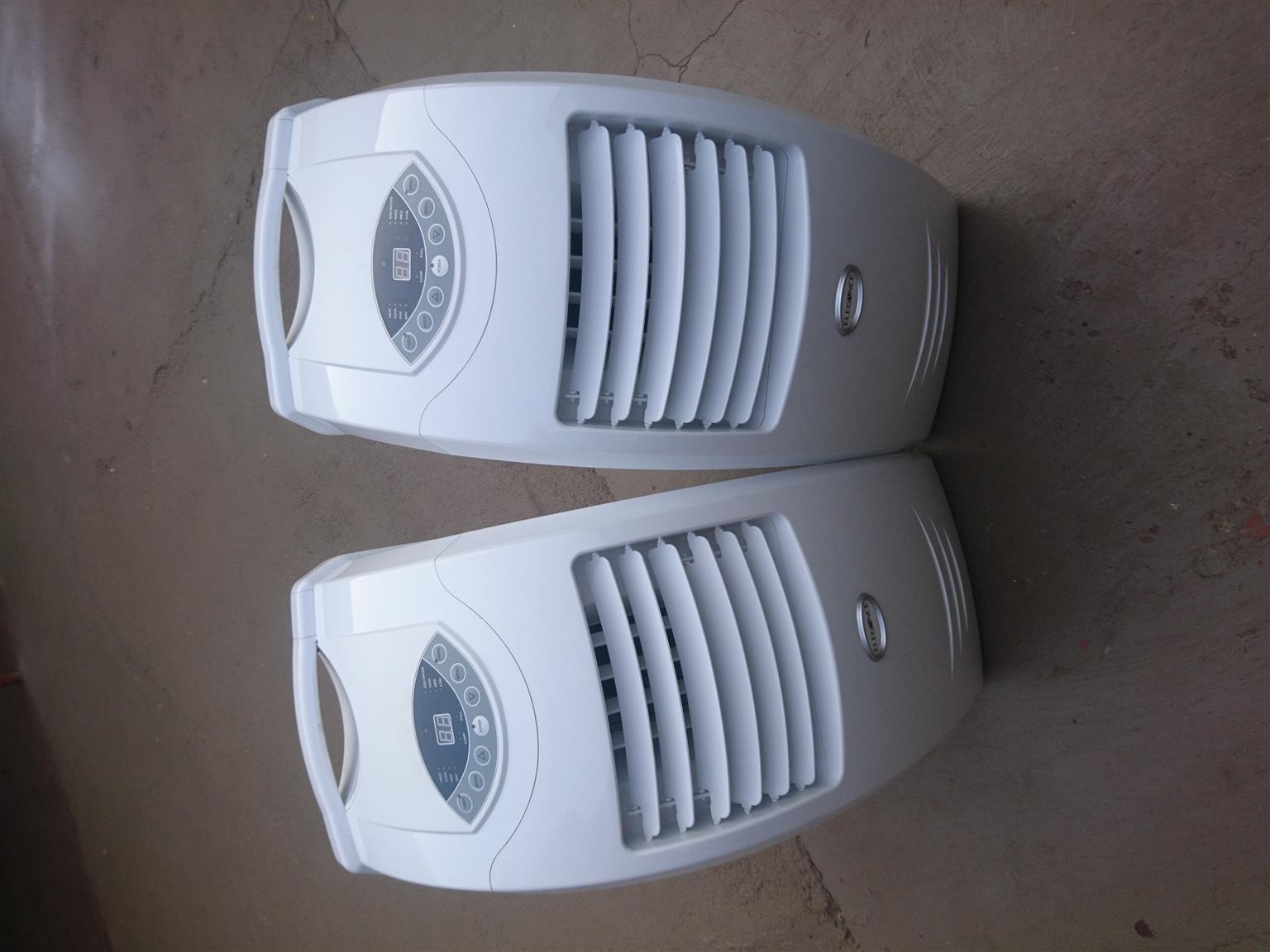 2 x 12000btu portable air conditioners
