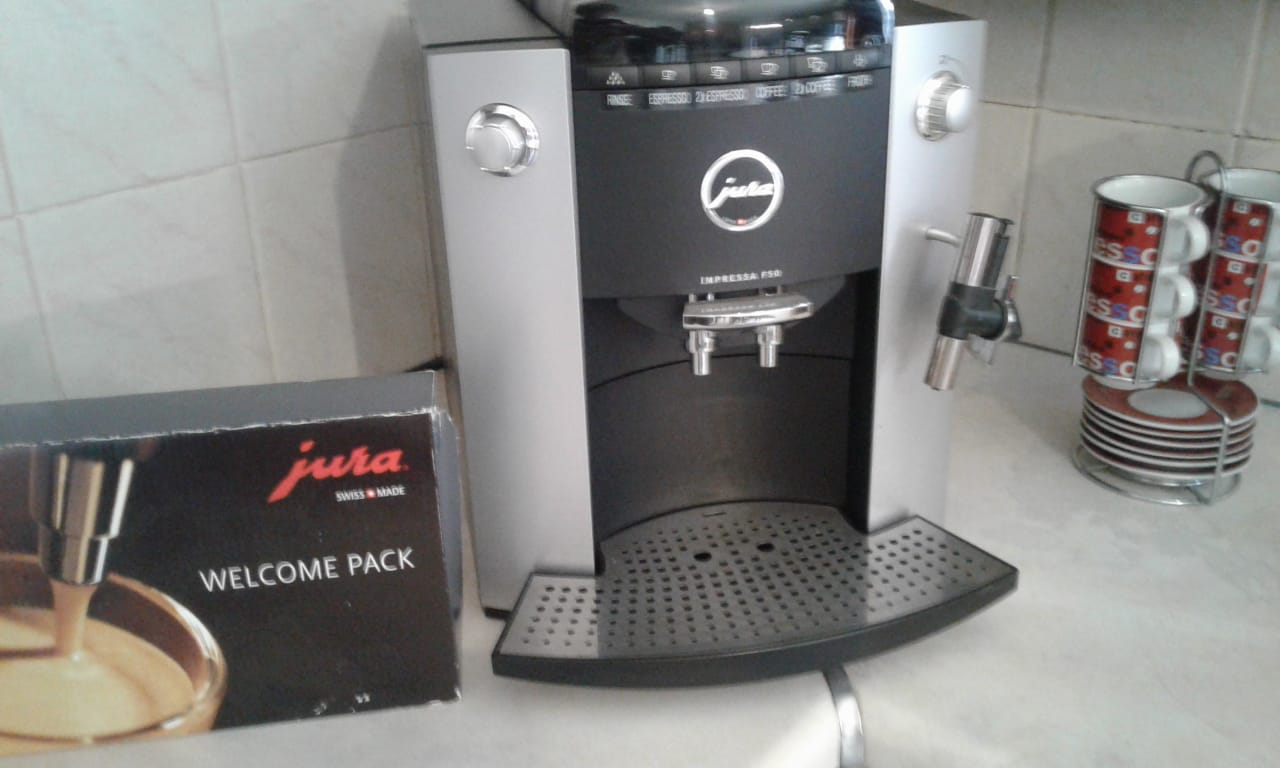 Jura Impressa F50 for sale R6800 mint condition