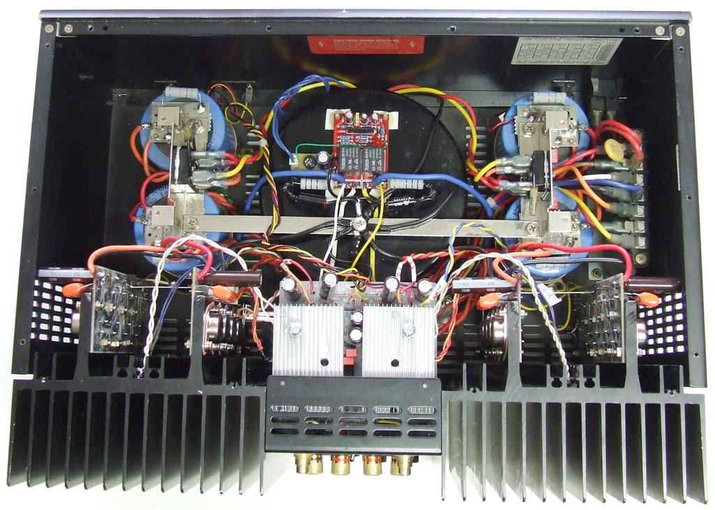 ADCOM GFA 555 MKII STEREO POWER AMPLIFIER