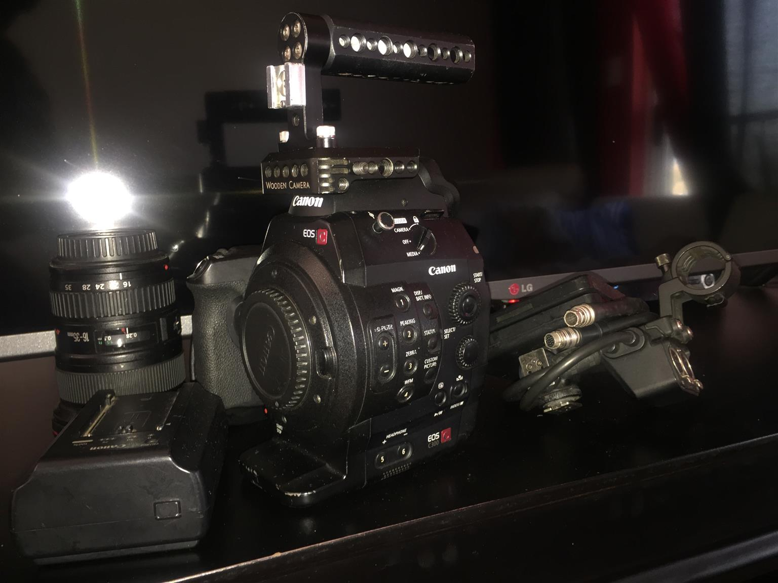 CANON C3OO EOS CINEMA CAMERA (IF YOU KNOW... YOU KNOW)