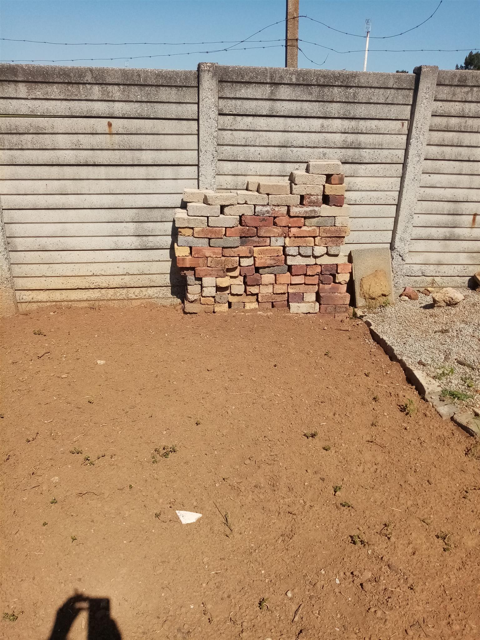 Bricks whole and half