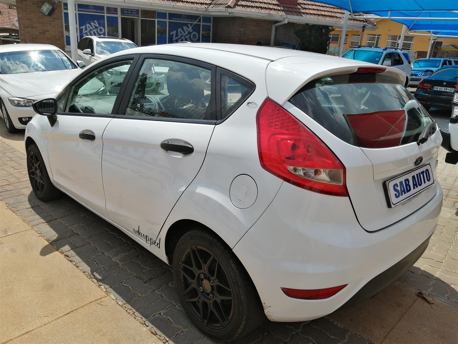 2010 Ford Fiesta 1.4 5 door Trend