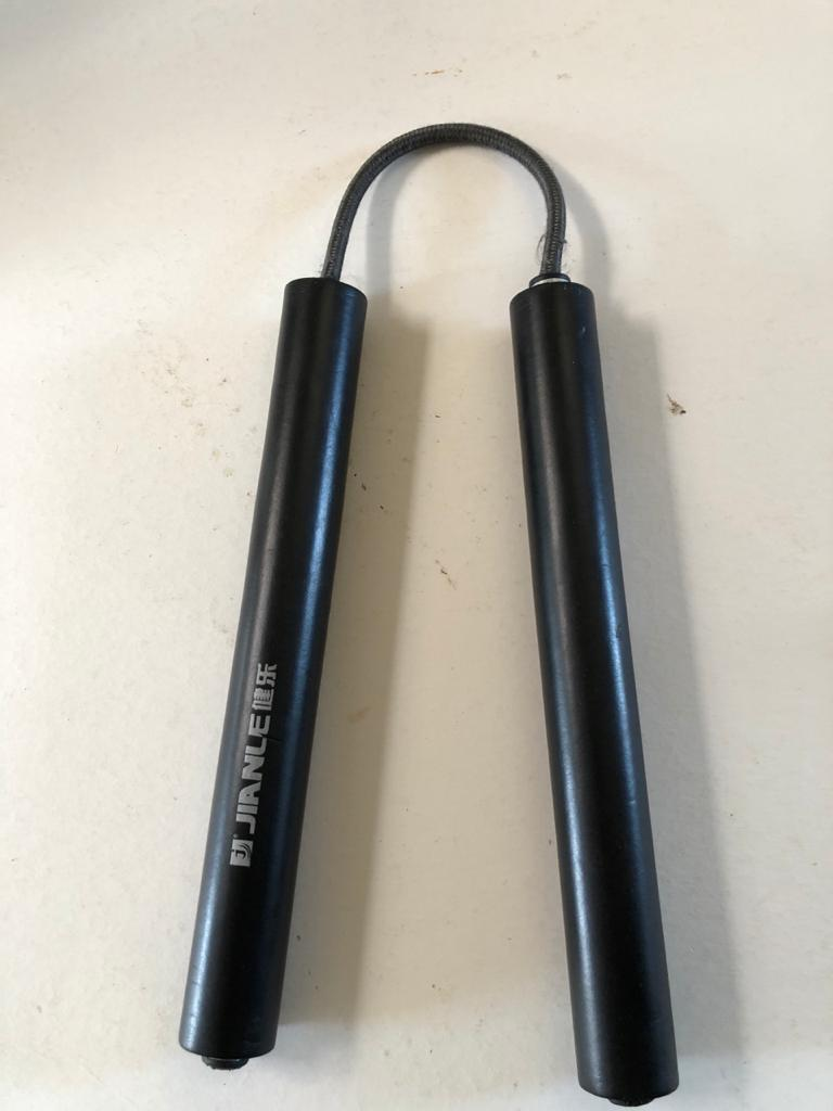 Jianle Sponge covered training Nunchuck set - see condition below - priced to clear