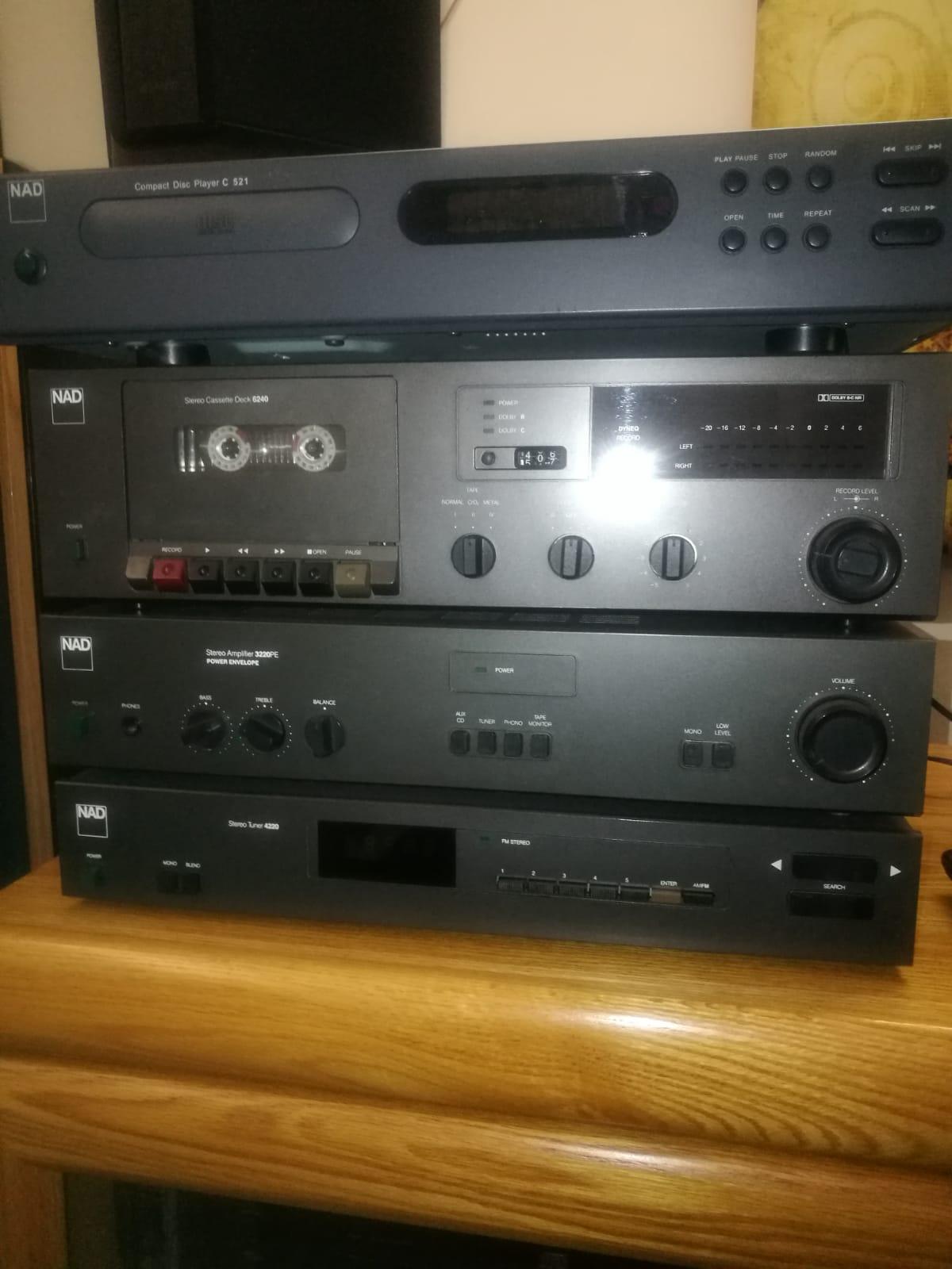 Nad vintage hifis x2 ( Nad 3140 and 3220)