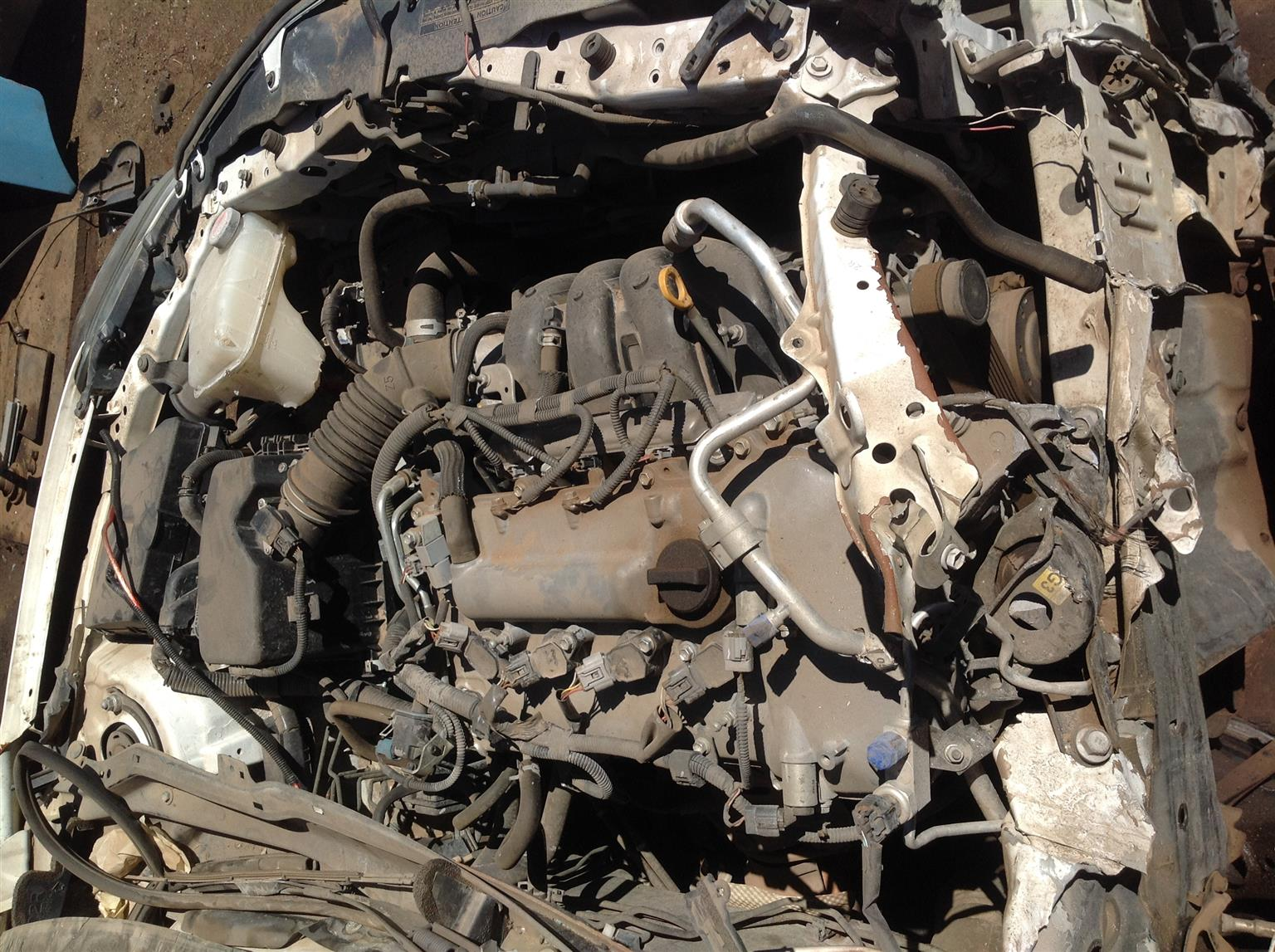 Stripping Toyota Corolla Quest 1.6l 2016 for Spares