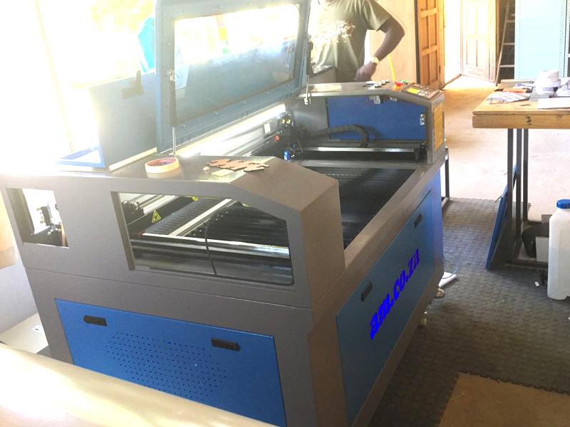 LC-1610/130 TruCUT Standard Range 1600x1000mm Cabinet, Conveyor Table Laser Cutting