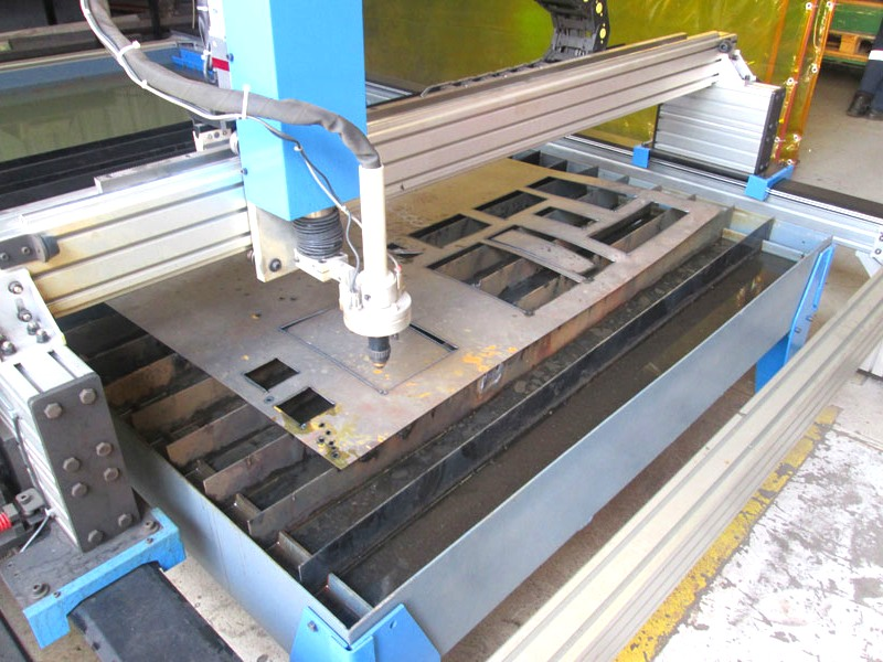 P-1325TMF MetalWise Standard CNC Plasma Cutting Table 1300x2500mm, Stepper Motors