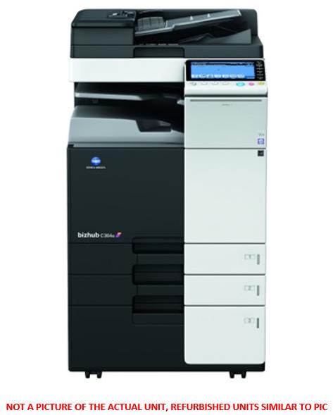 Konica Minolta Bizhub C224 colour multi-function A3/A4 printer/copier