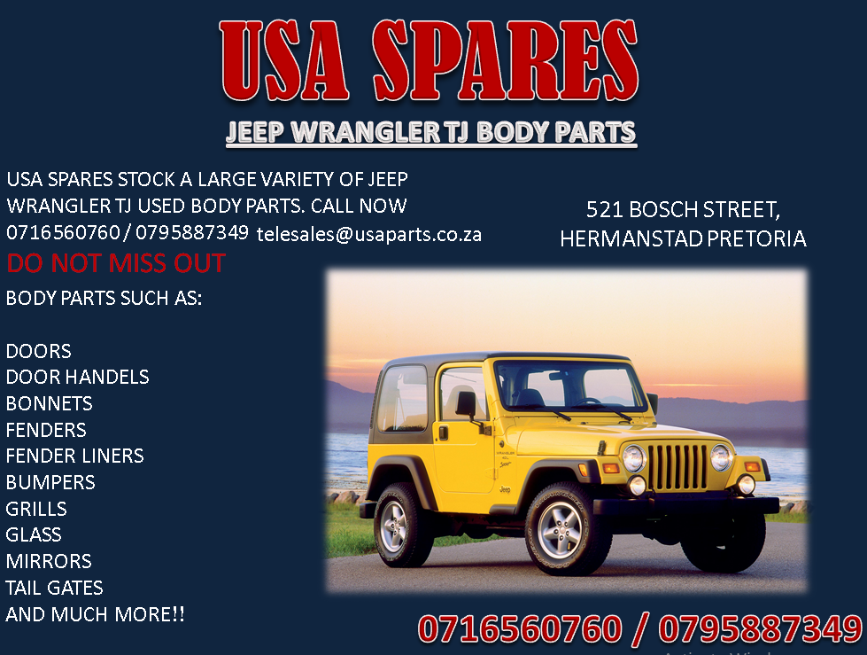 Used Jeep Wrangler Parts >> Jeep Wrangler Tj Used Body Spares For Sale
