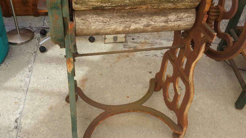 Mangle Cast Iron Decorative