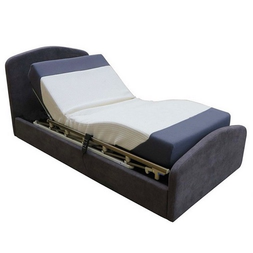 Electric Adjustable Bed - HiLow Flex - Height Adjustable with Integrated Side Rails. FREE DELIVERY