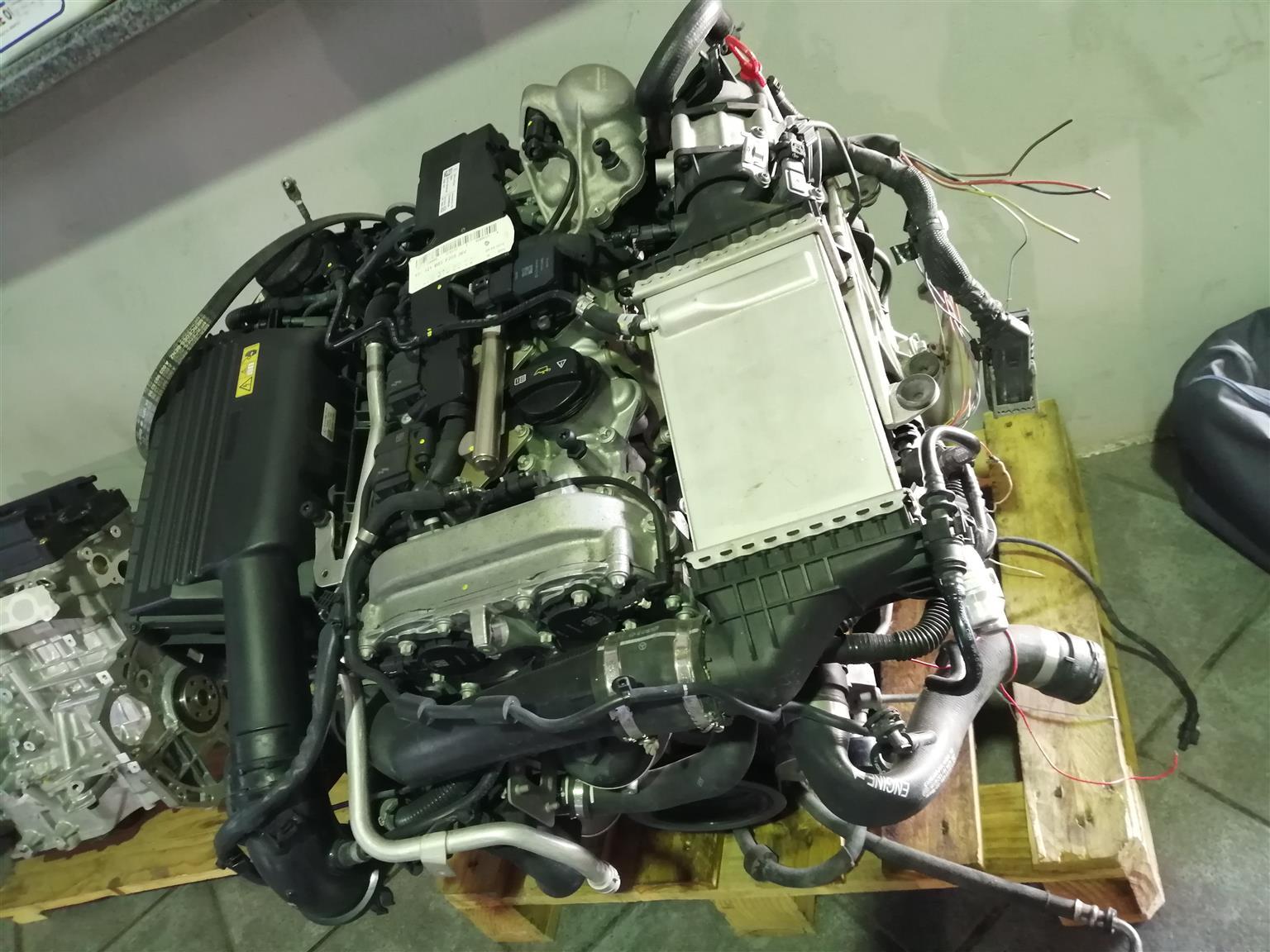 Mercedes W205 274 ENGINE
