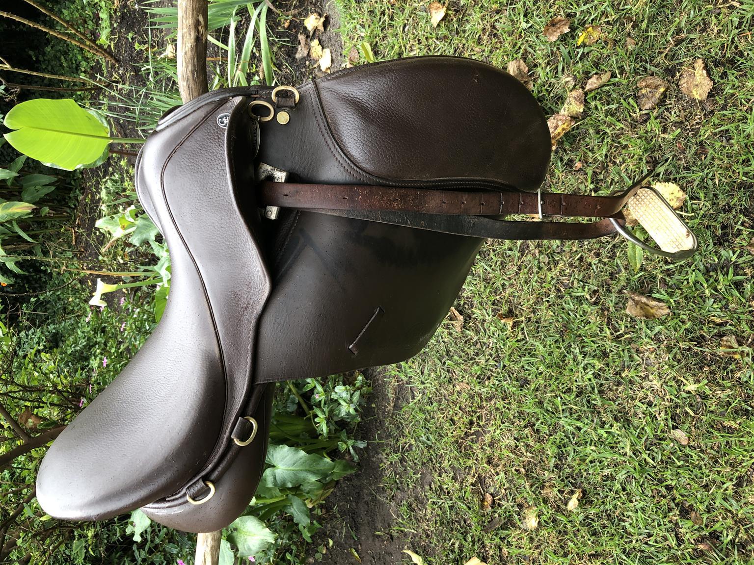Horse riding saddle