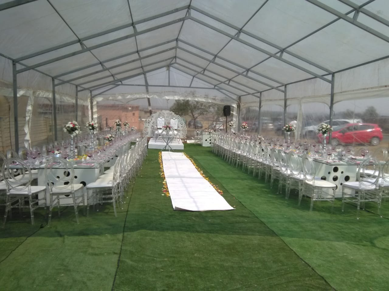 WINTER SPECIAL for Clear Marquees