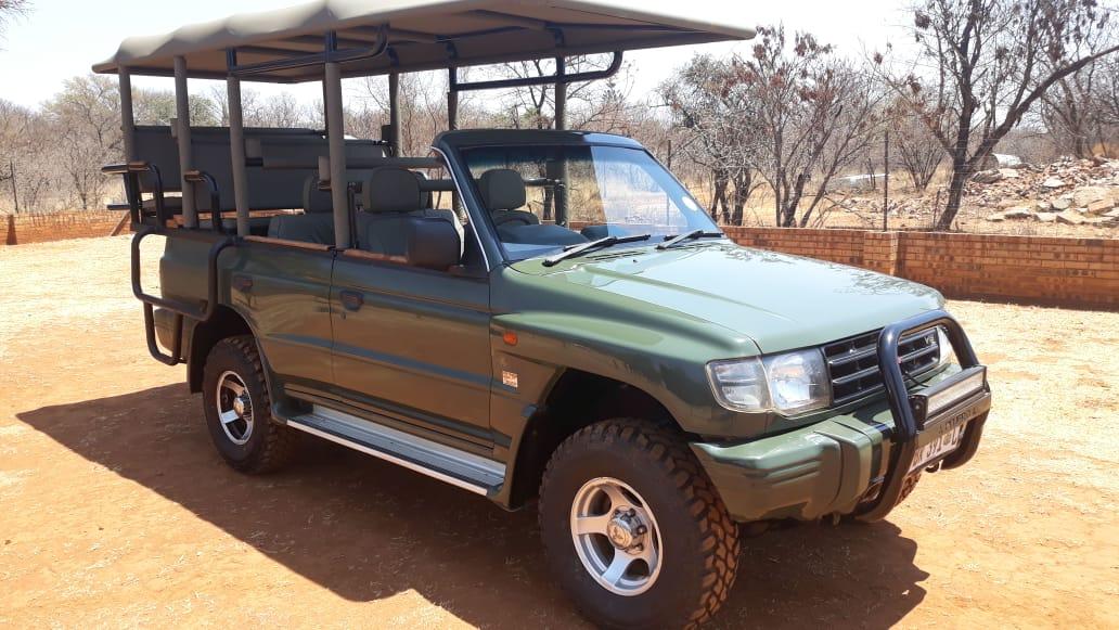 Pajero Game drive vehicle for sale