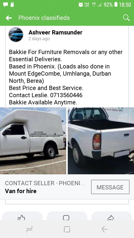 Furniture Removals and Transportation Services