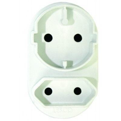 Plug Adapter: MultiPlug Power Socket Adapter. 3-Pin 2x 5Amp. Brand New Product.