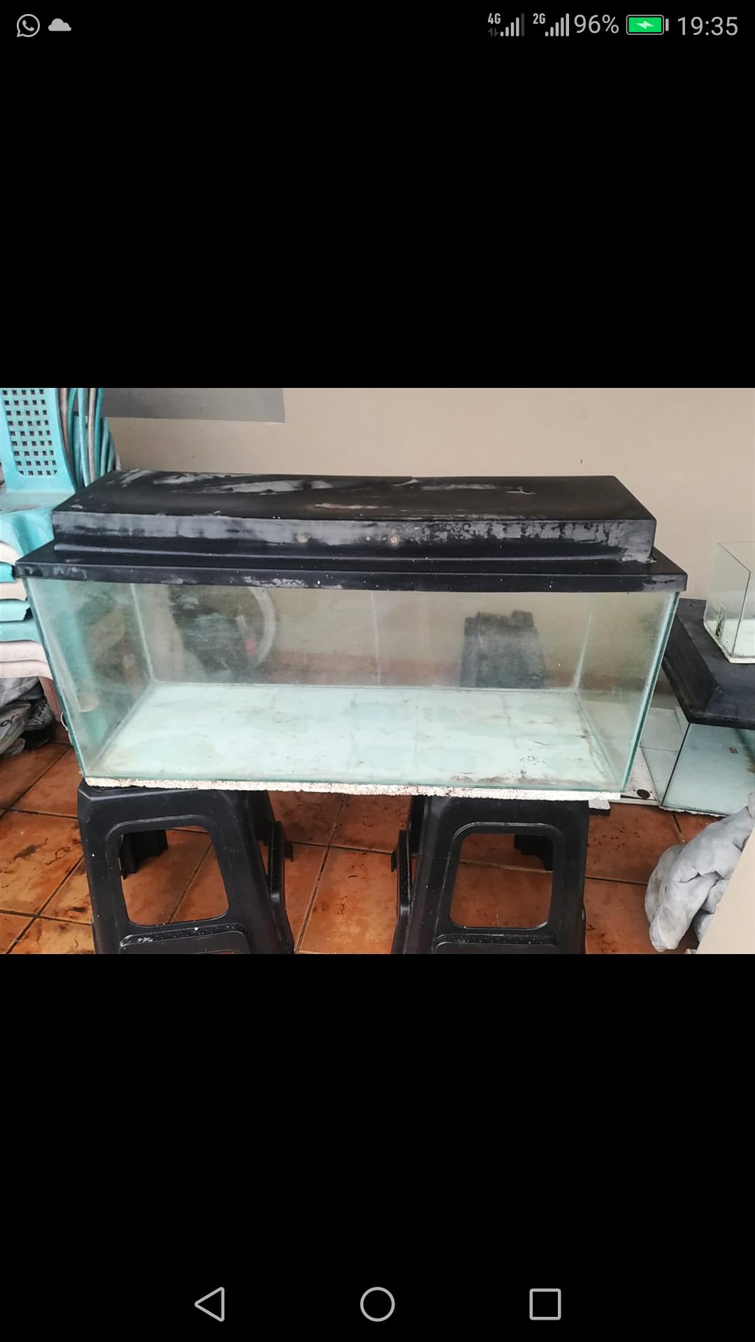 4x FISHTANKS 4 sale