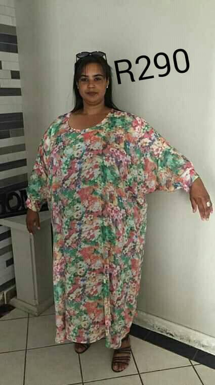 Multi colored flower dress for sale