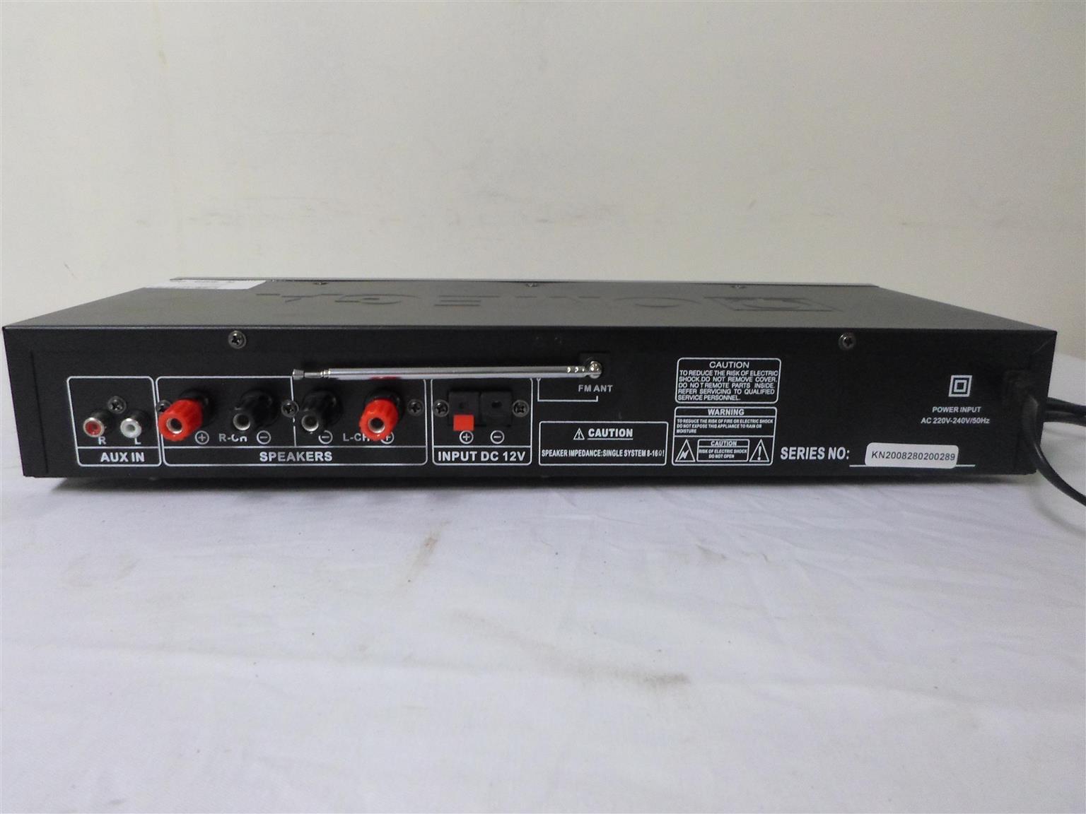 Karaoke Amplifier Omega AV-971G3