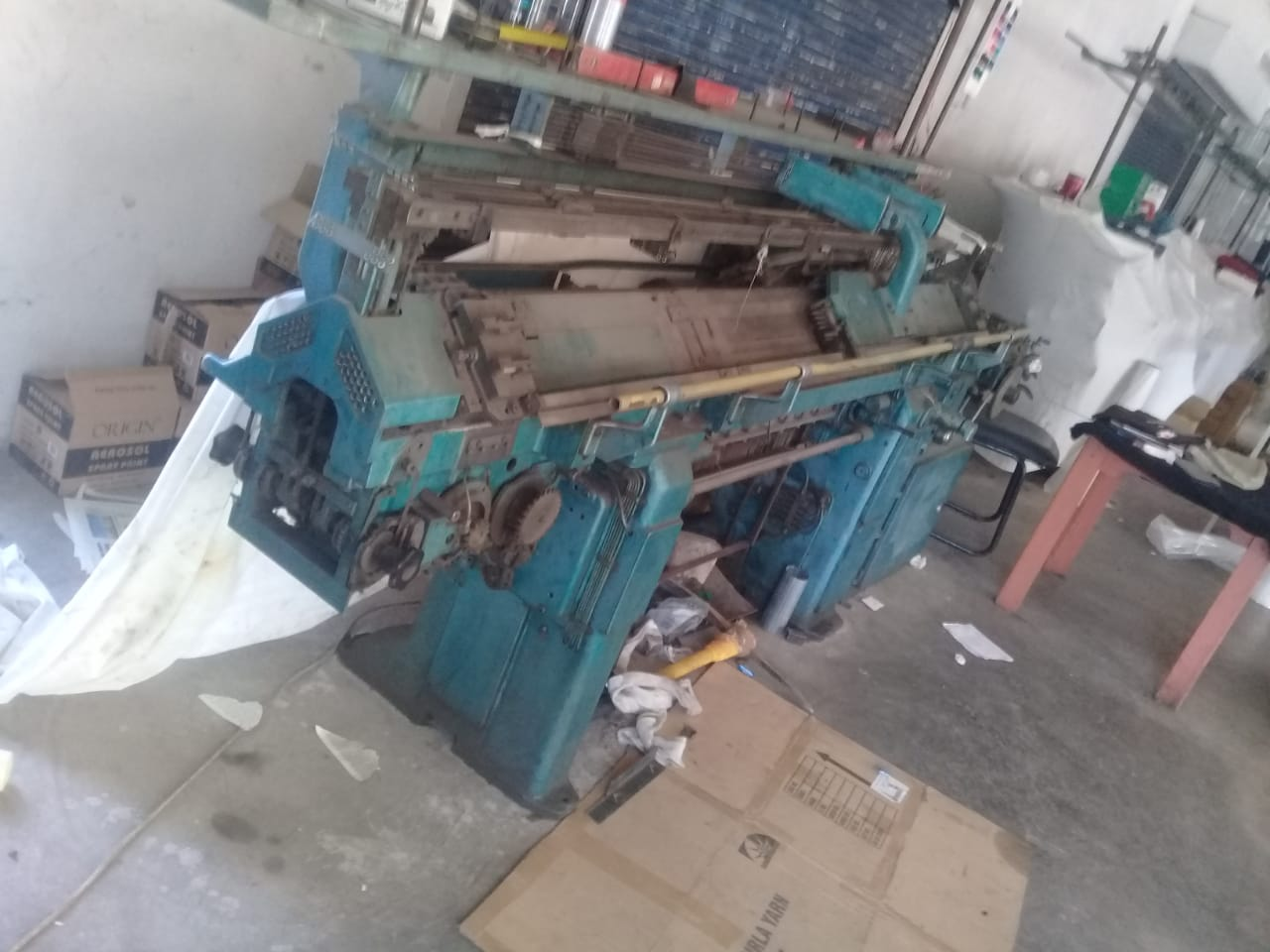 STOLL AJUM COLLAR MACHINE