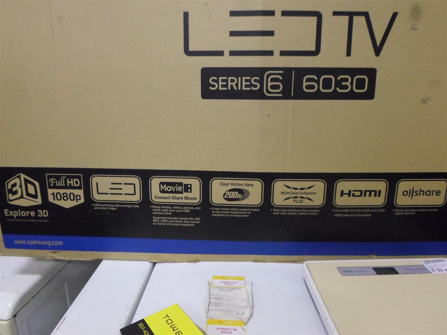 "40"" Samsung LED TV"