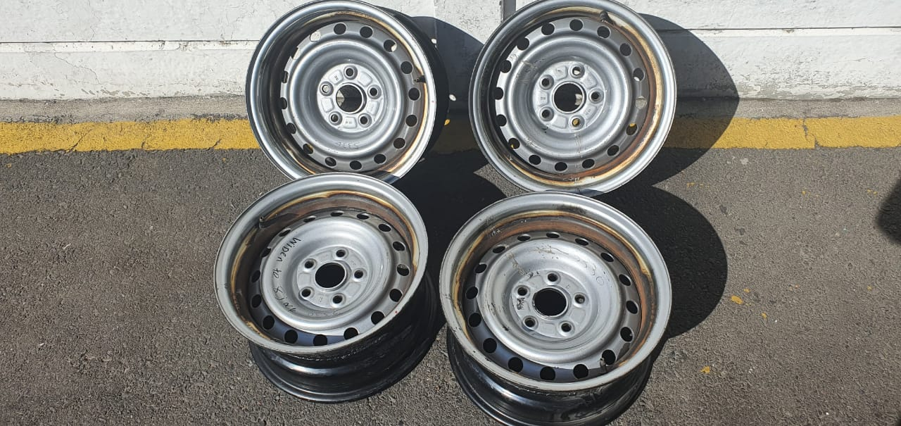 """15"""" Bakkie Steel Rims"""