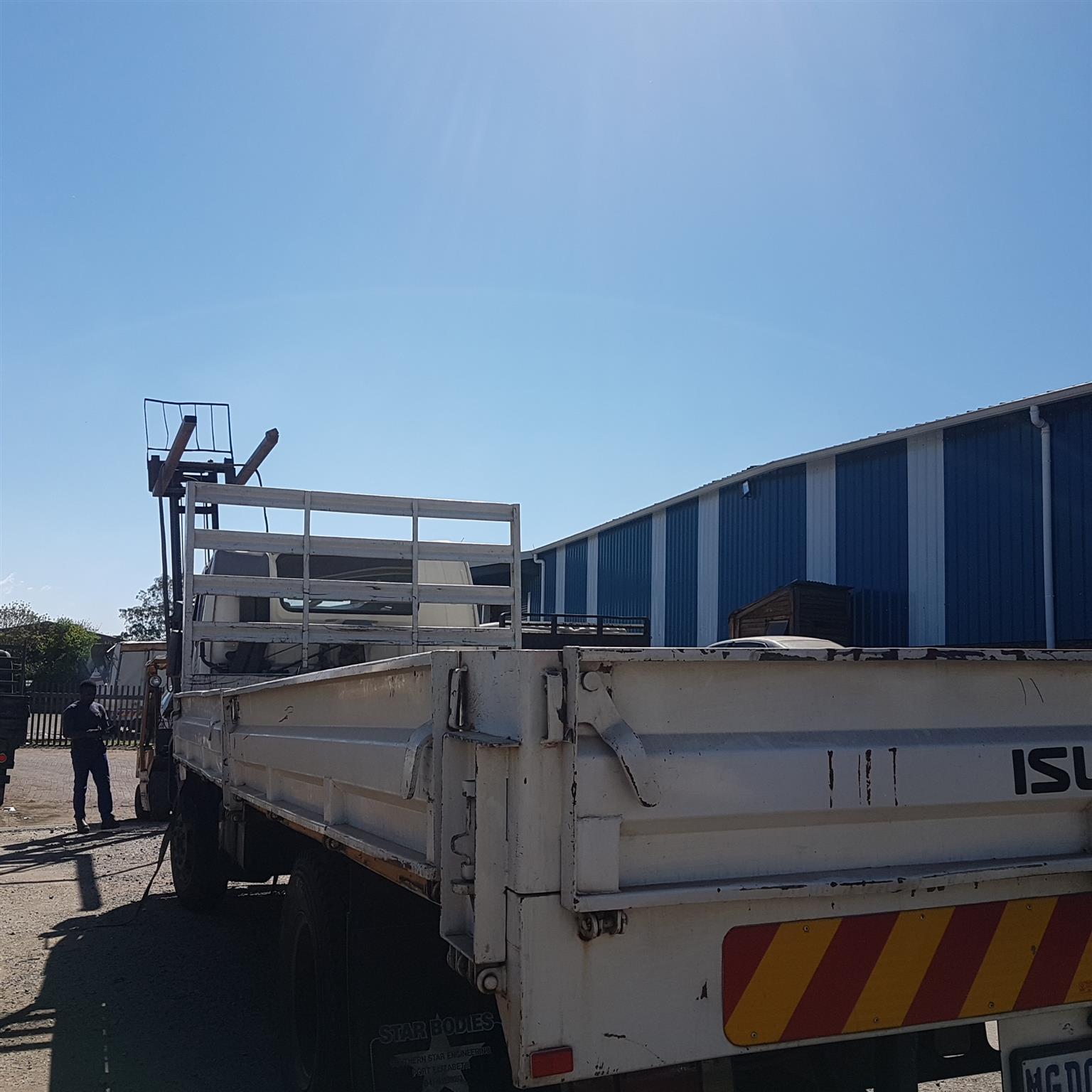 ISUZU FSR 700 FREIGHTER SITEC TRUCK -  STRIPPING FOR SPARES