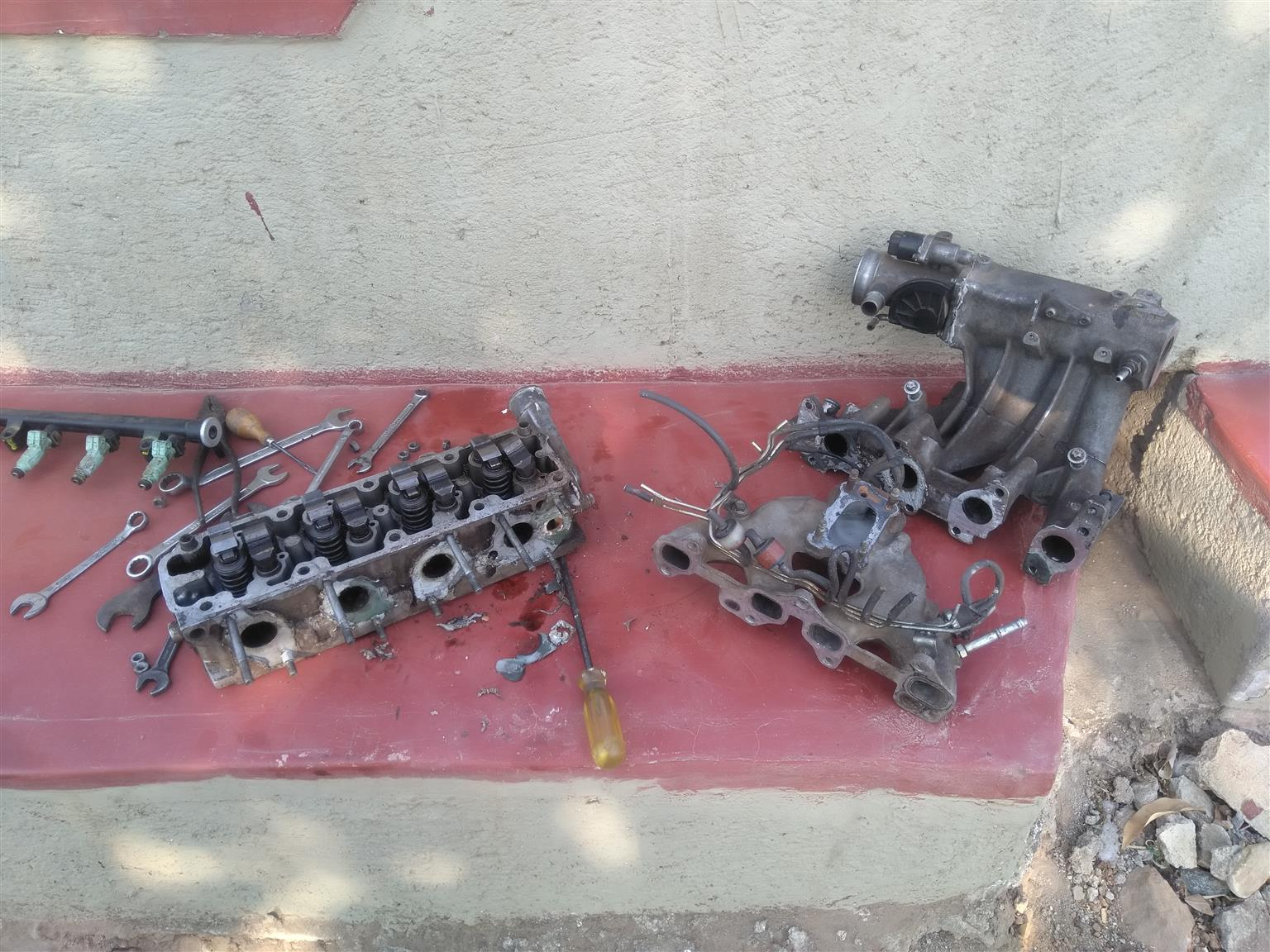 Cars for Stripping Opel