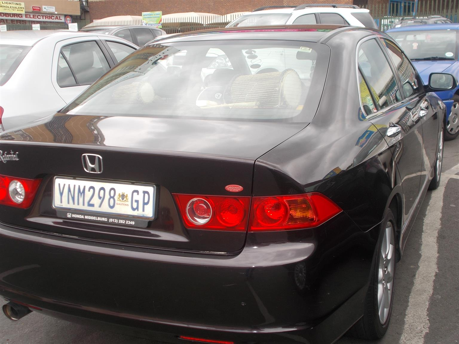 2006 Honda Accord 2.4 Executive automatic