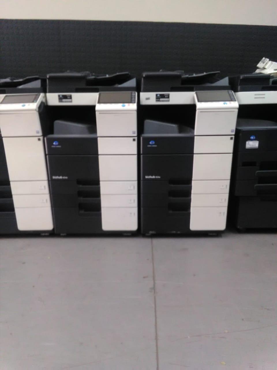 4 x Refurbished Konica Minolta C224e Multi Function Copier