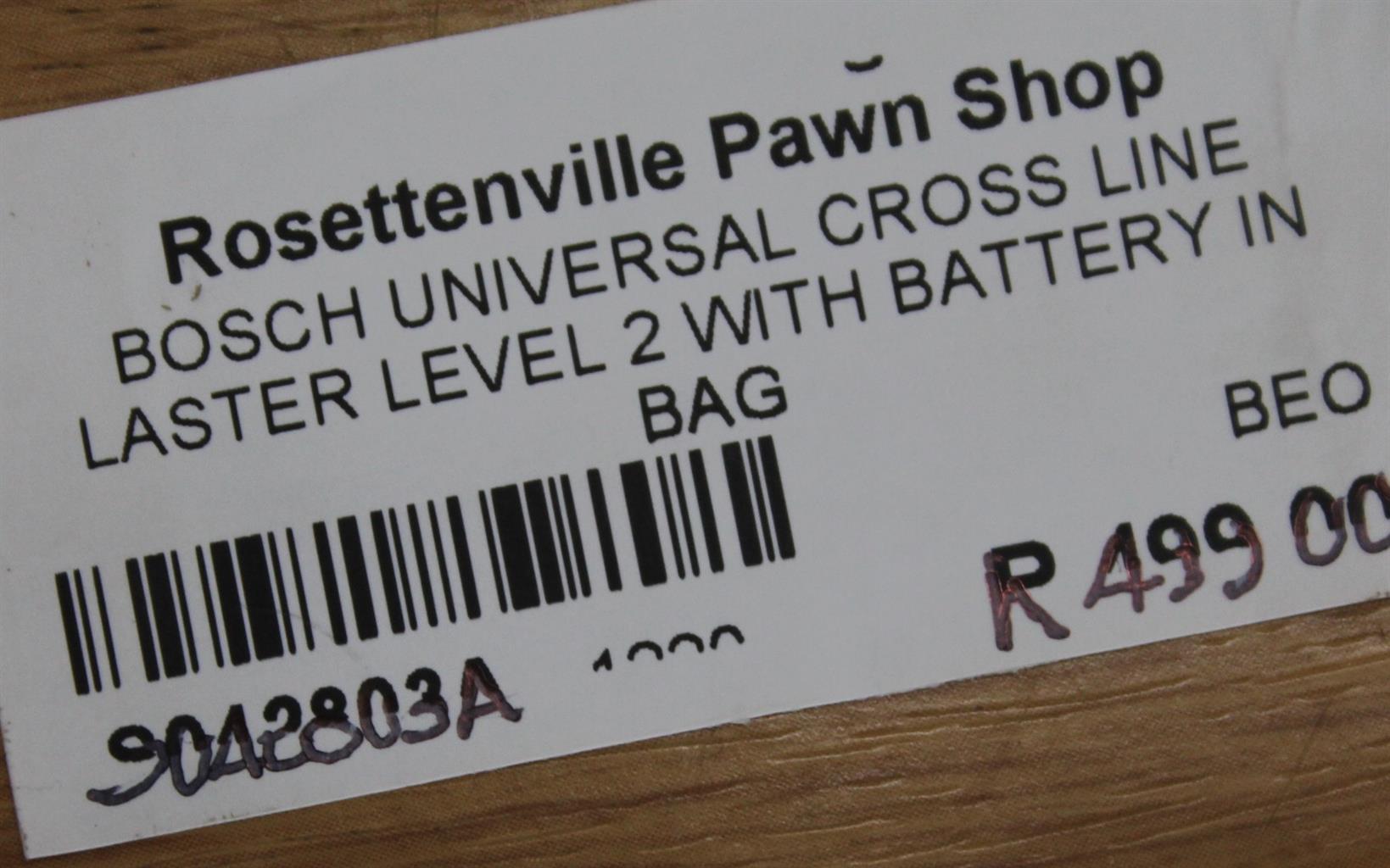 Bosch universal cross line laser level S042803A #Rosettenvillepawnshop