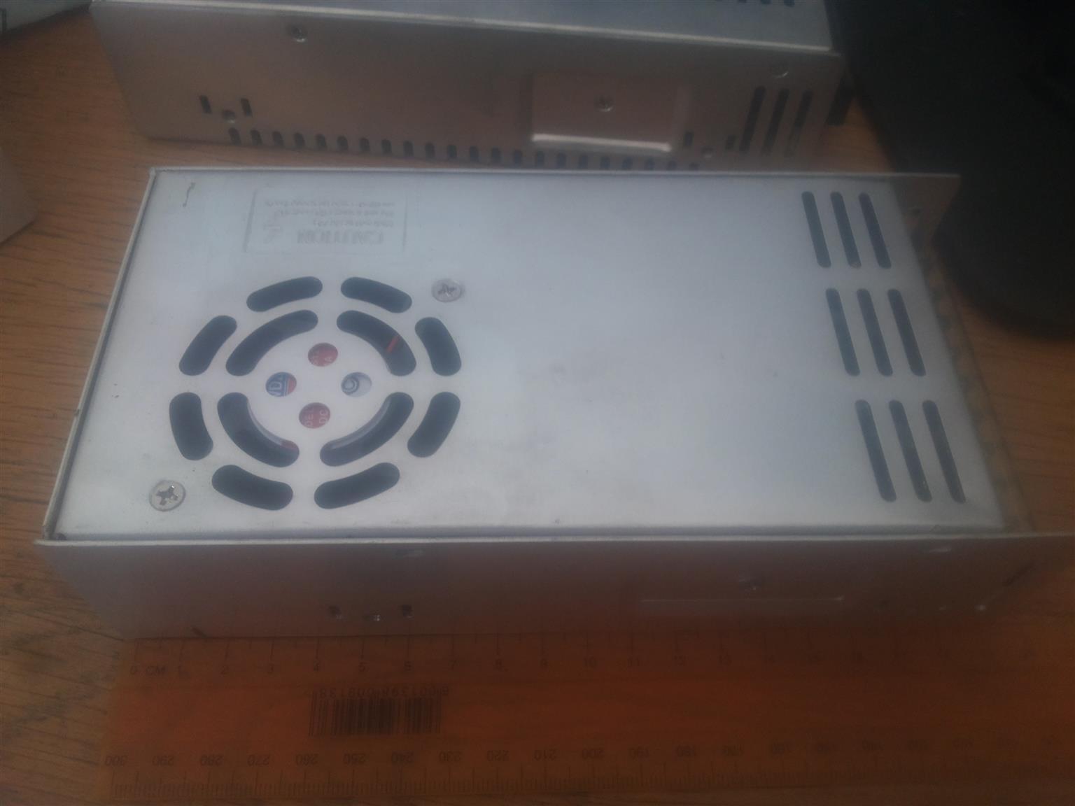 1 x POWER SUPPLY 220 V AC TO 12 V DC 29.2 AMPS