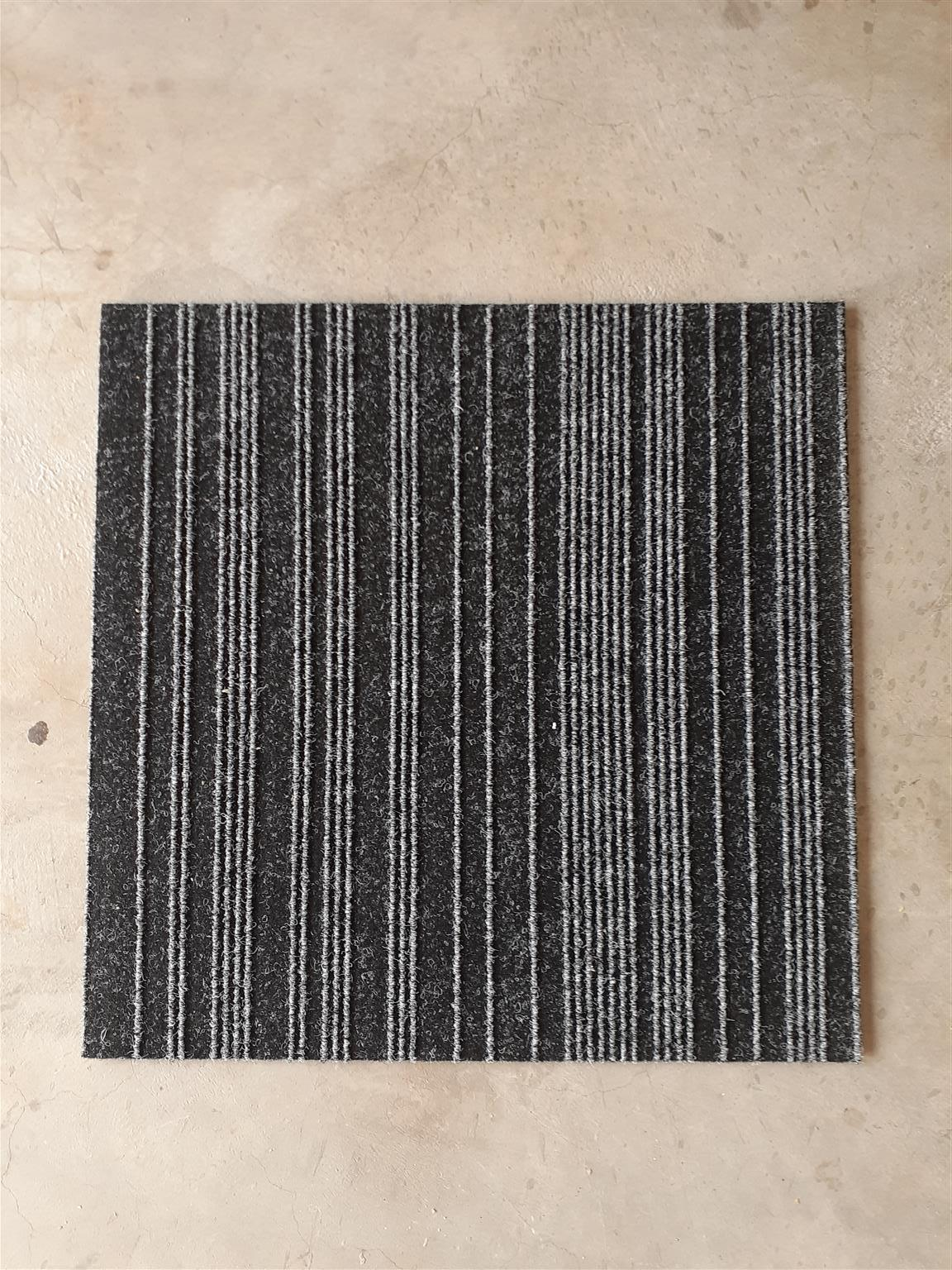Used Carpet tiles and Installation
