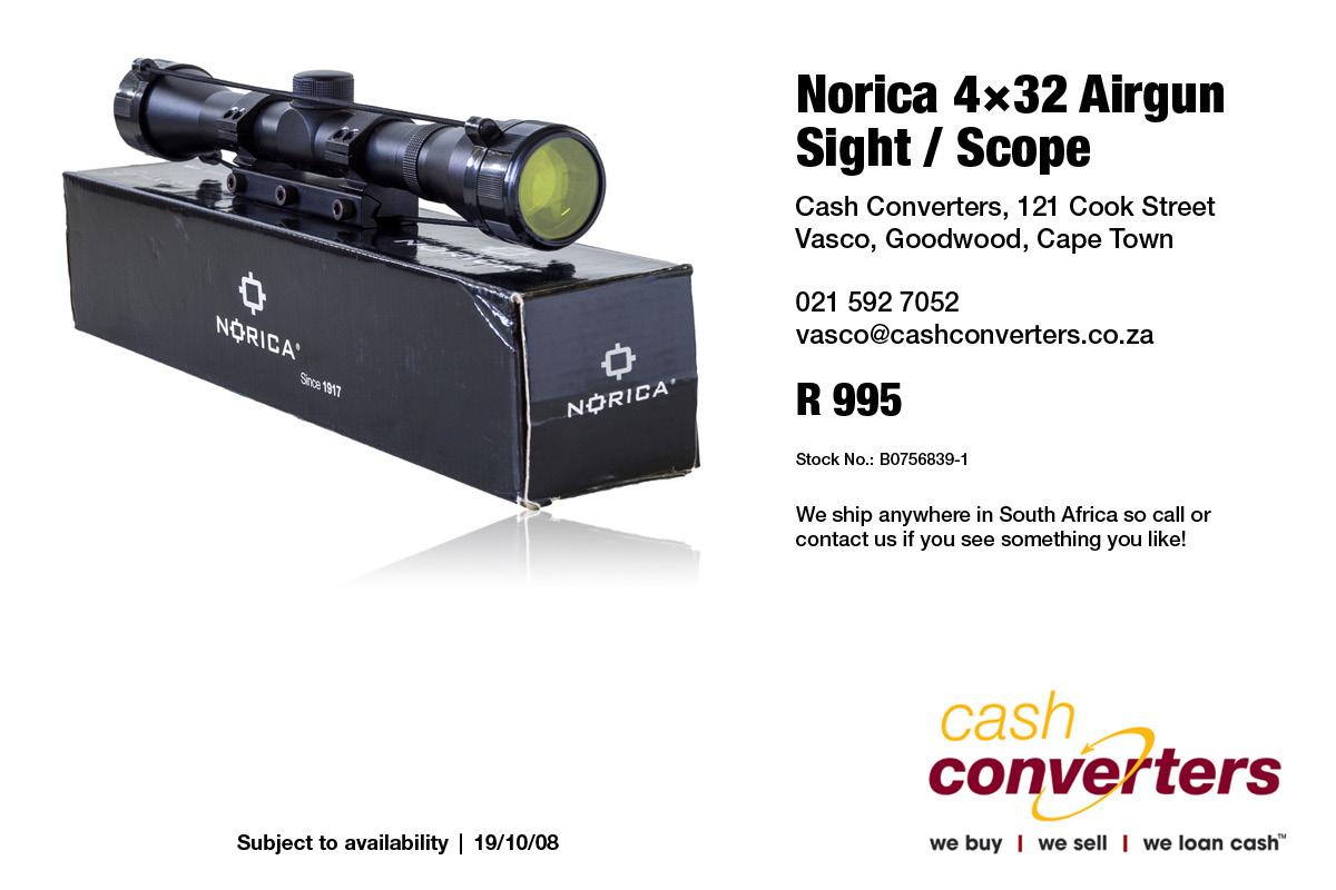 Norica 4×32 Airgun Sight / Scope